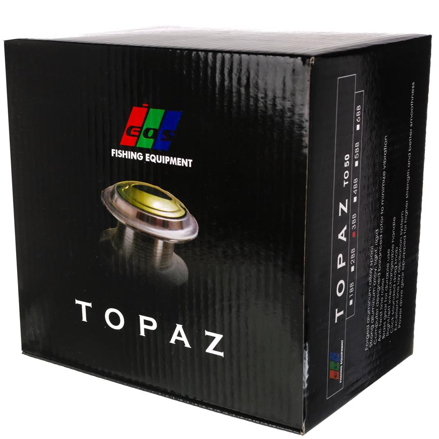 "Котушка безінерційна ""Topaz""TO50 3 ball"