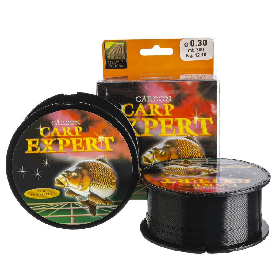 Волосінь коропова Carp Expert Carbon 0,30 300m