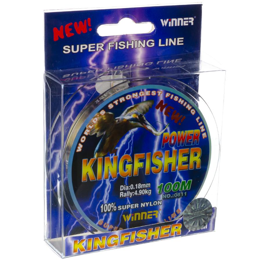 Волосінь winner Кingfisher 0,18mm 100m
