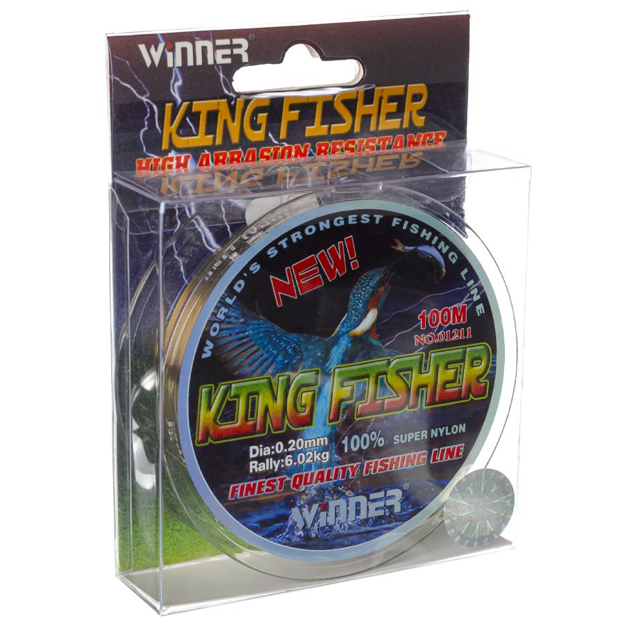 Волосінь winner Кingfisher 0,20mm 100m
