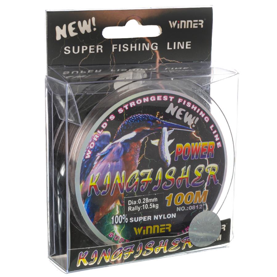 Волосінь winner Кingfisher 0,28mm 100m