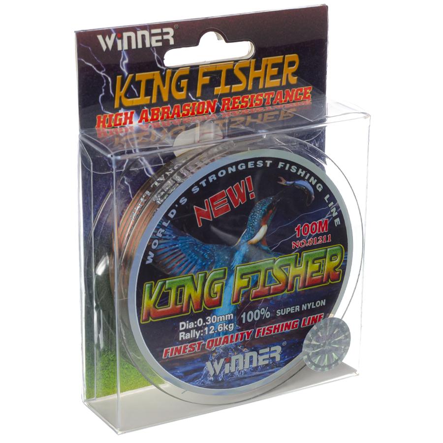 Волосінь winner Кingfisher 0,30mm 100m