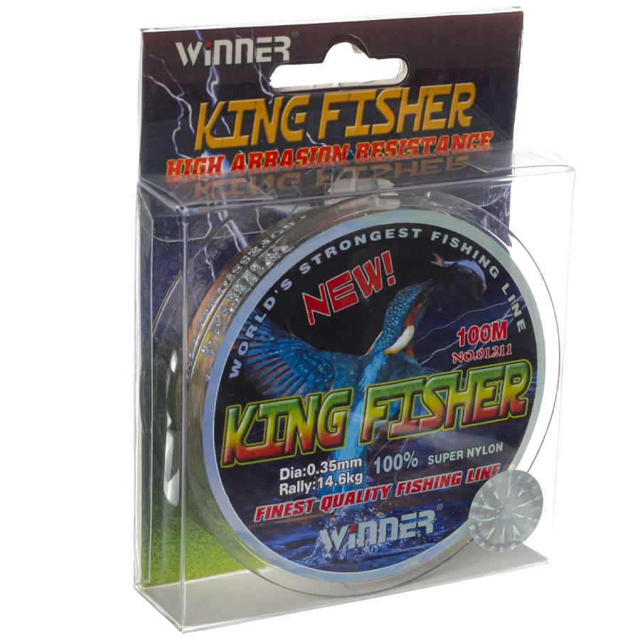 Волосінь winner Кingfisher 0,35mm 100m