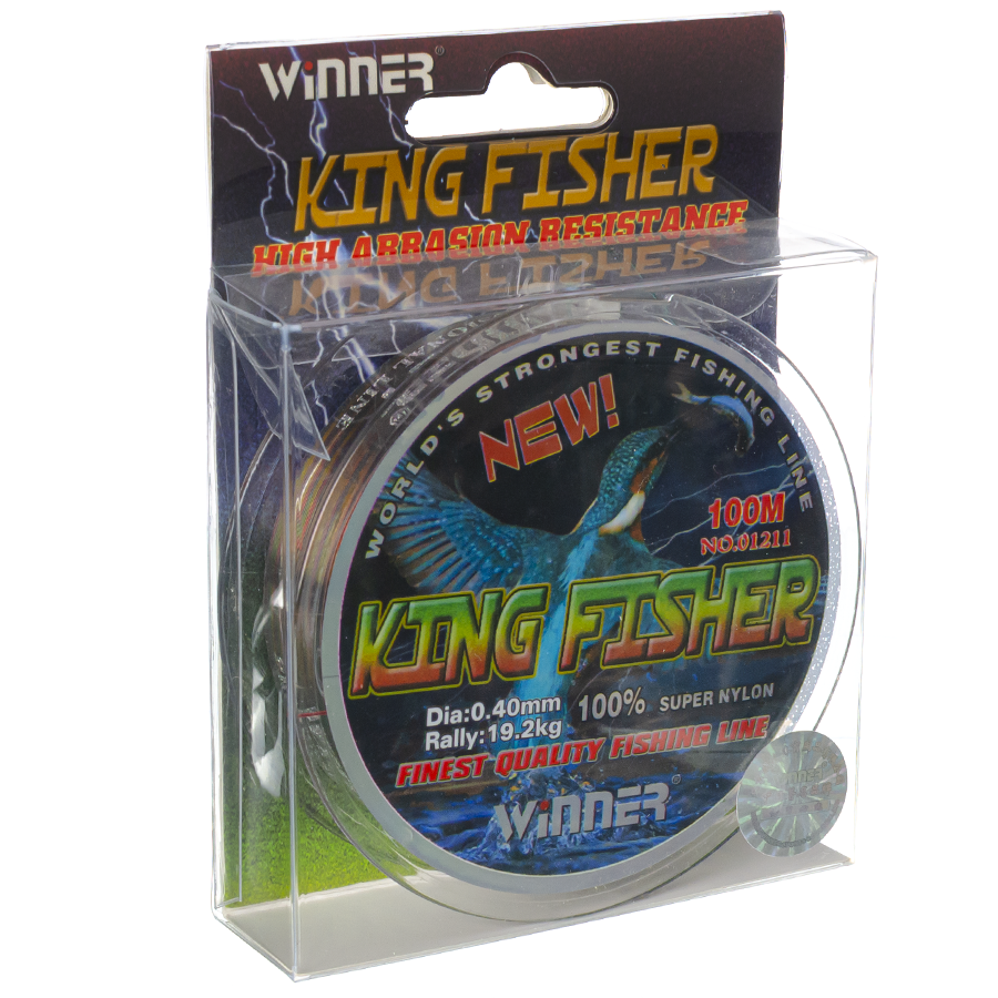 Волосінь winner Кingfisher 0,40mm 100m