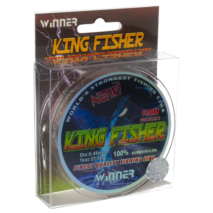 Волосінь winner Кingfisher 0,45mm 100m
