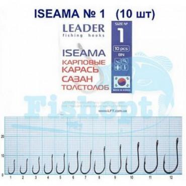 Крючок Leader ISEAMA