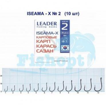 Крючок Leader ISEAMA-X