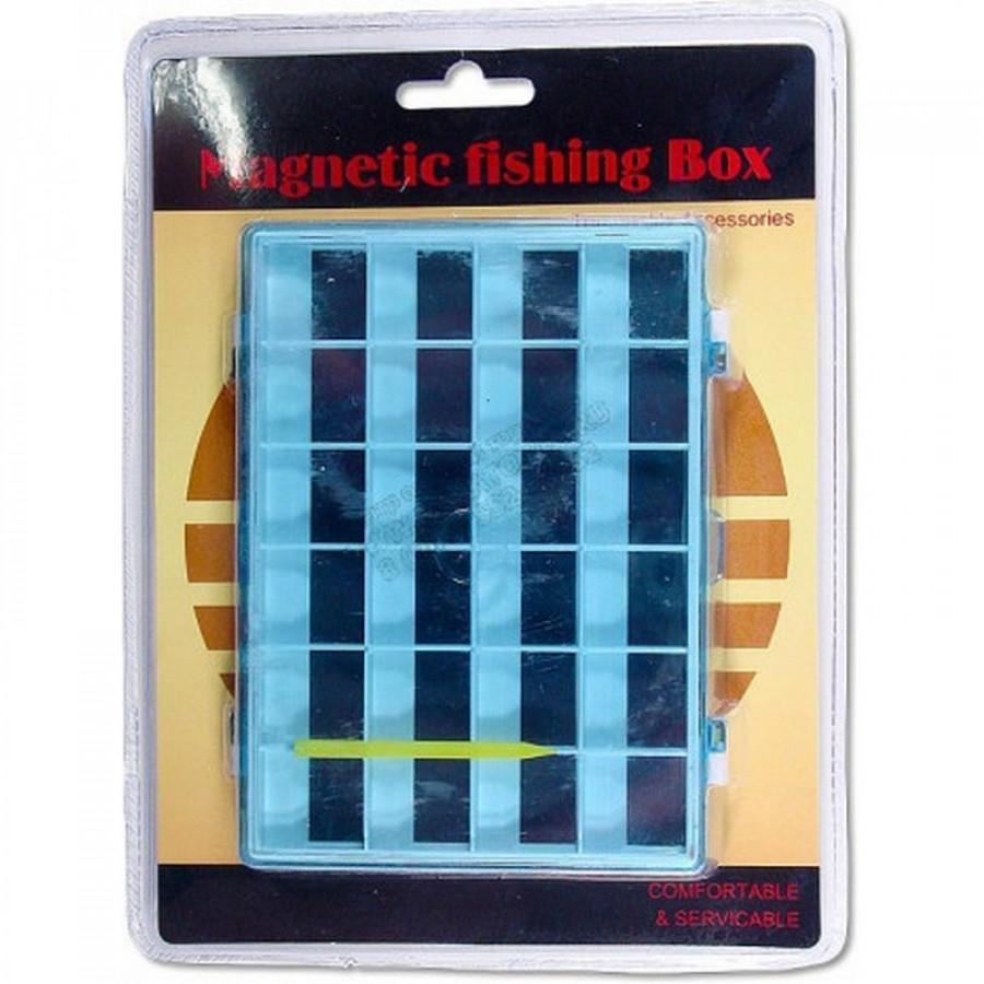 Коробочка подвійна для гачків Takara \ Magnetic fishing Box HW-L014A