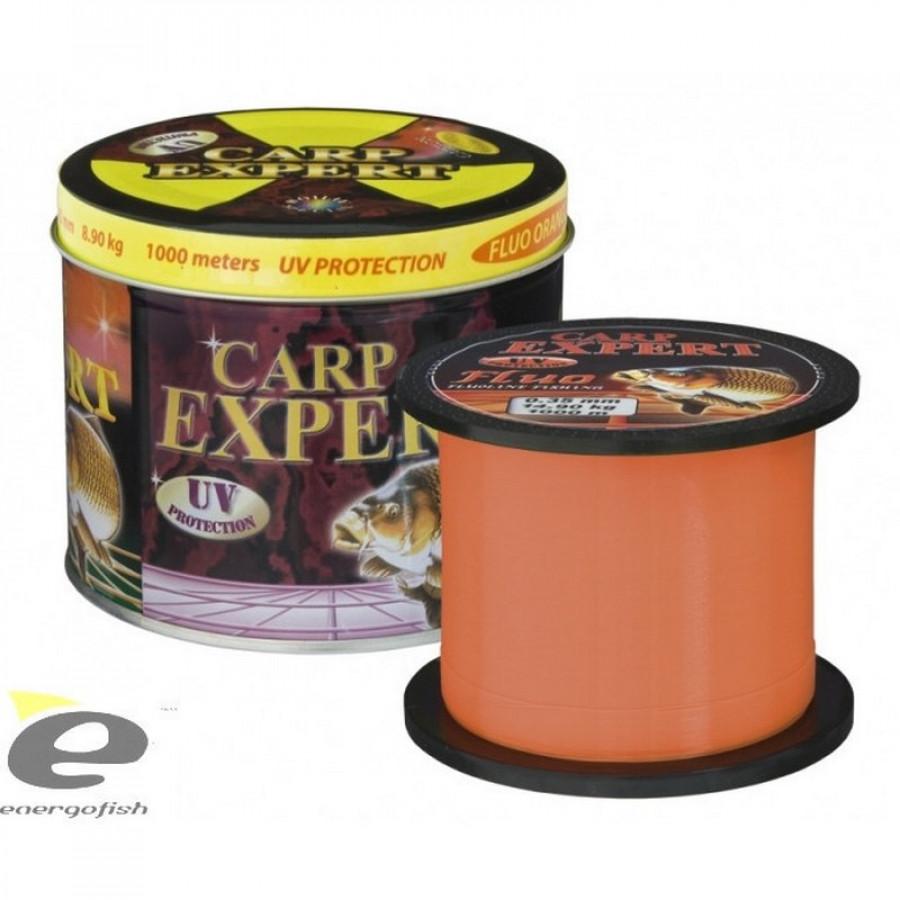 Волосінь коропова Carp Expert Fluo Orang 0.35mm 1000m