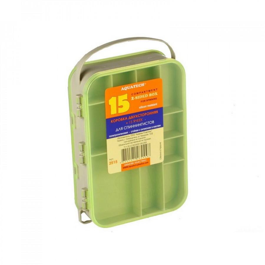 Коробка Aquatech 2515 2-х стор. 15 осередків