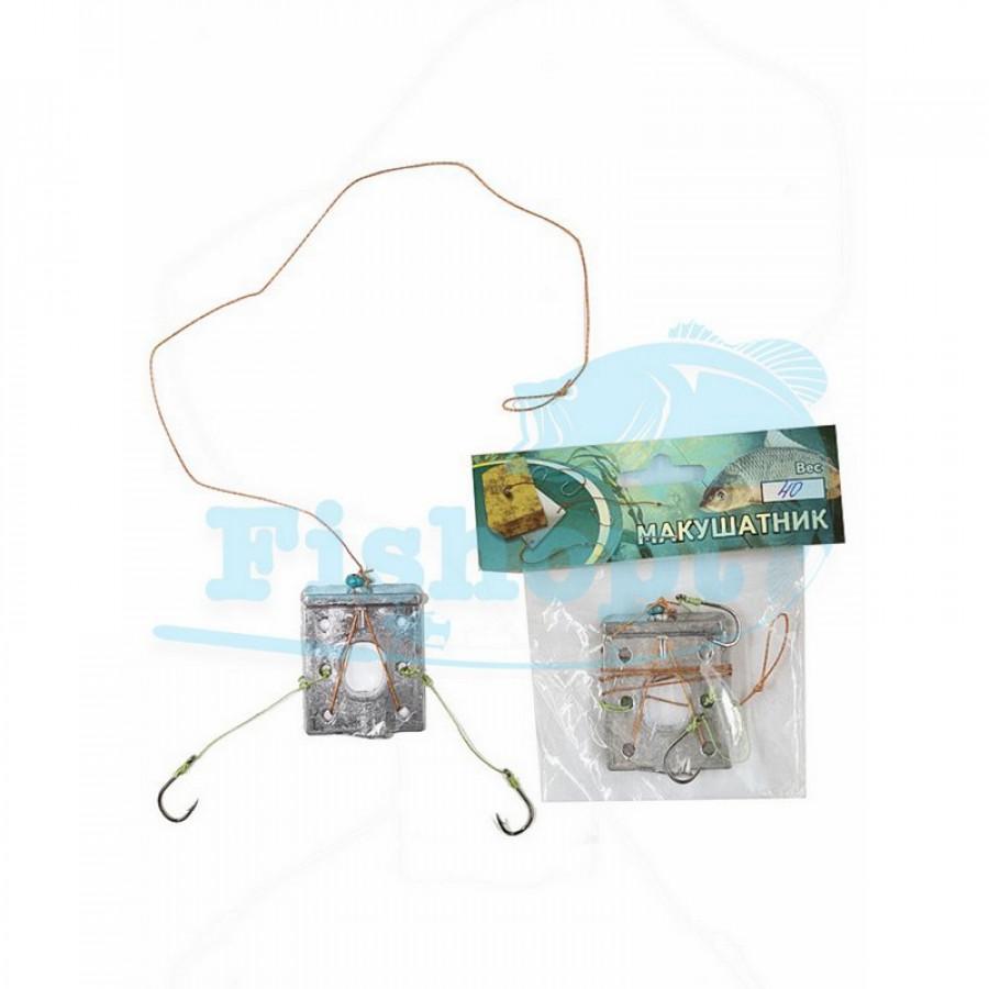 Carp Fishing макушатник оснащенный (свинец) 40g