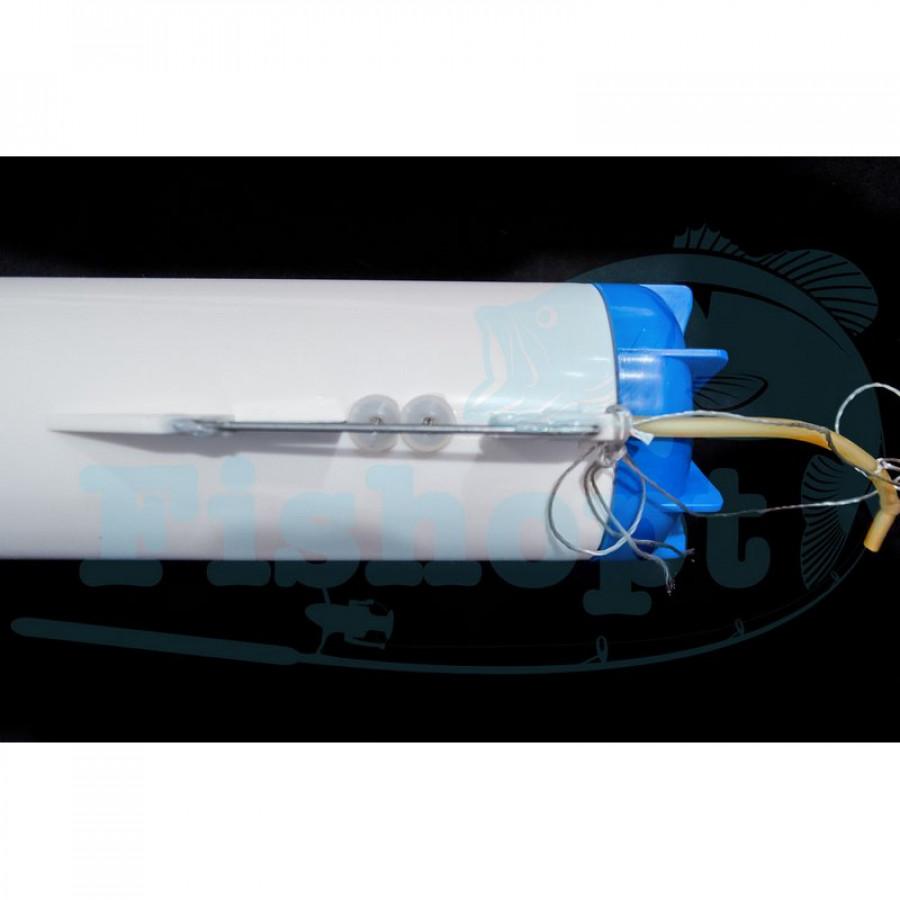 Turbo торпеда для завоза снастей под лед на аккумуляторе