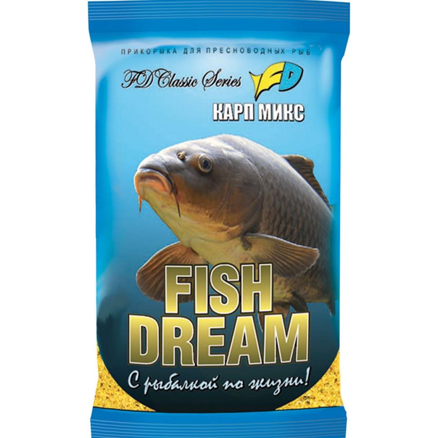 """Прикормка Fish Dream """"Короп мікс"""" 1kg"""