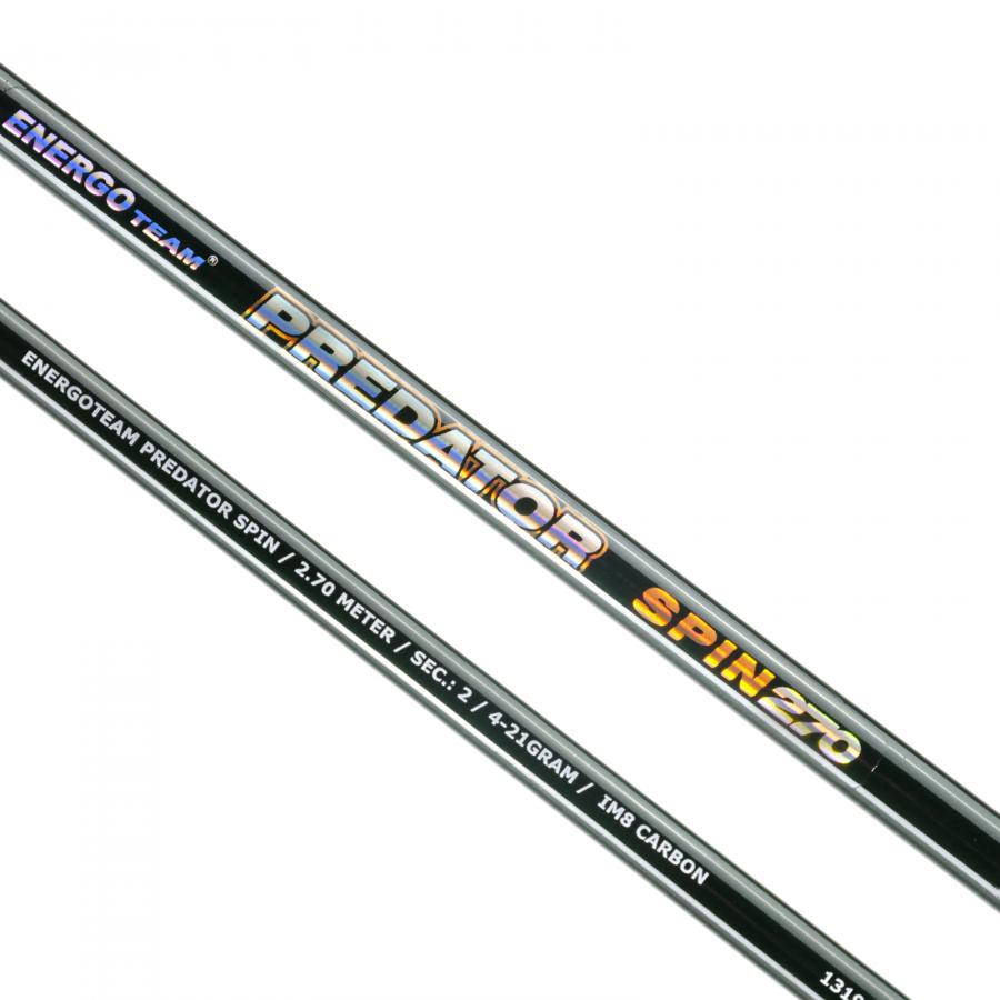 Спінінг Energoteam Predator Spin 4-21g 2.70m
